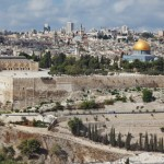 Majestic panorama of Jerusalem.