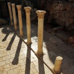 The cardo at the Jewish Quarter in Jerusalem, Israel.