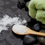 Spa - salt from the dead sea for a peeling